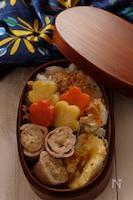 【15分弁当】えのきのチーズ巻きヘルシー弁当‼️