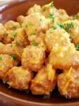 鶏団子のオレンジジュース煮
