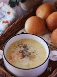 寒い日に食べたいっ♡たっぷり野菜のあったか豆乳ミルクスープ