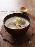 あさりと蕪の白味噌チャウダー
