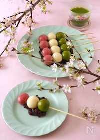 『三色豆腐団子🍡』