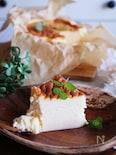 ベイクド×スフレ2層の絶品チーズケーキ
