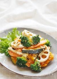 『根菜の胡麻マヨサラダ』