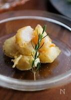 天ぷら粉で簡単サクレア!粉チーズが決めてのホタテのフリット