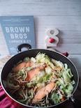 ワンパンたっぷり野菜♪ちゃんちゃん焼き