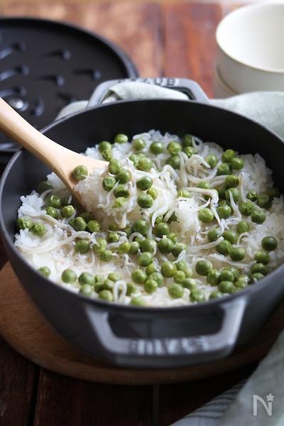 豆ごはん。
