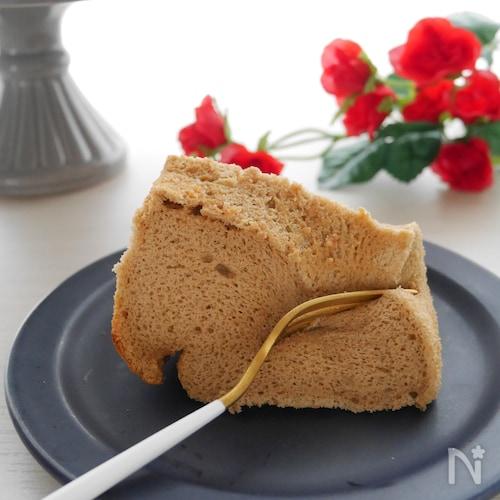 ふわとろもちっ!米粉のコーヒーシフォンケーキ