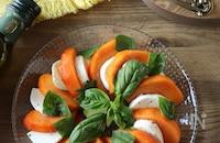 柿のカプレーゼ