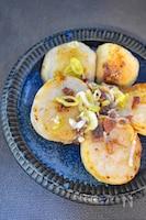 里芋のアンチョビ炒め