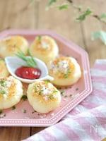 休日おつまみに♡とろ~りチーズのイタリアン芋もち