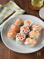 緑茶香る爽やかてまり寿司