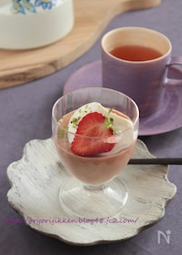 『バレンタインにも♥濃厚チョコレートチーズケーキ§超簡単‼』