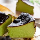 ミキサーで作る濃厚な抹茶バスクチーズケーキ