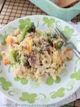 アンチョビクリームのポテトマカロニグラタン§野菜のグラタン