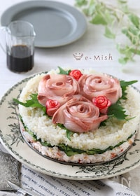 『お寿司ケーキ』
