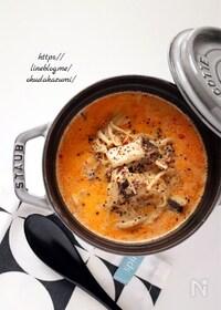『旨みたっぷり!まろやかな美味しさ*きのこの担々スープ』