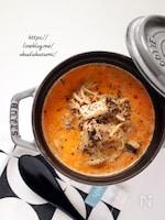 旨みたっぷり!まろやかな美味しさ*きのこの担々スープ