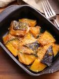 トースターで簡単 鮭とかぼちゃの塩麹味噌マヨ焼き