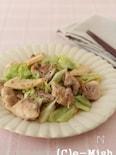 鶏肉とキャベツのはちみつ味噌炒め
