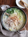 生姜豆乳鍋。