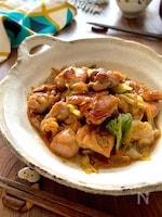 簡単で美味しいから定番になる【鶏モモとキャベツの和風旨煮】