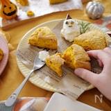 HMとトースターでつくるかぼちゃのスコーン
