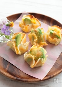 『アボカドチーズのひとくちおつまみ』