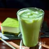 抹茶の風味が豊かな抹茶ラテ