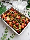 夏バテ予防に!ゴーヤと厚揚げ トマトのマリネ