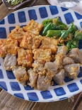 【冷めても美味しい】厚揚げピーマン蒟蒻のご飯進むネギ味噌炒め