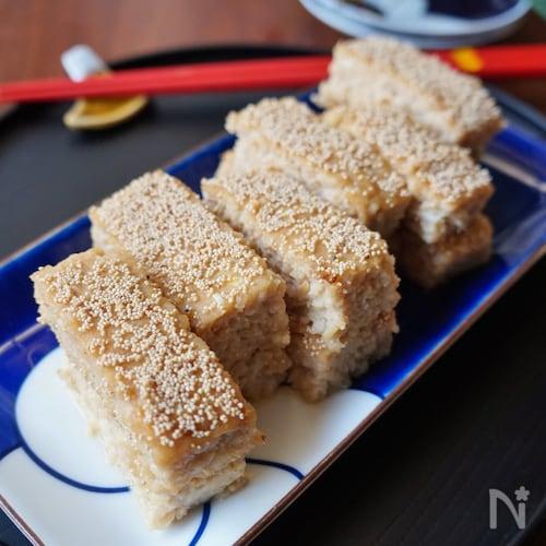 我が家のおせち・豆腐入り松風焼