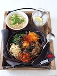火を使わずに簡単ビビンバ【レンジ調理・お弁当や作り置きにも】