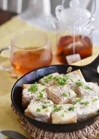 『居酒屋風☆厚揚げ豆腐のチーズ焼き』