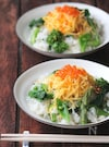 春野菜の出汁散らし寿司。