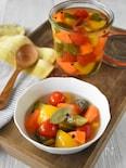 夏野菜のカラフルピクルス