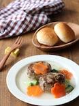 子どもも食べやすい 野菜あんかけミニハンバーグ