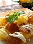 朝食やブランチに♪レンジで簡単フレンチチーズトースト