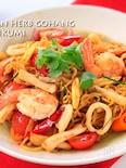 海鮮トムヤム焼きソバ❁ハーブなくとも美味