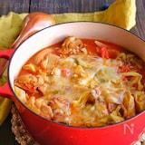 チーズトマトチキンカレー鍋