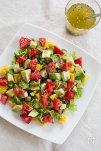『ころころ夏野菜サラダ イタリアン仕立て』#ドレッシング