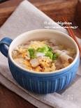 二度美味しい♡豚肉入りでスタミナ満点さっぱり春雨スープ♡