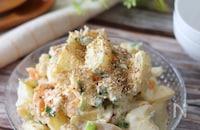 食べ応えあり!大満足のサラダ♡焼肉のタレで豚しゃぶポテサラ