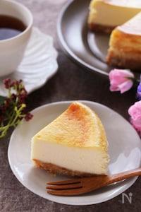 *禁断の美味しさ*モッツァレラチーズの濃厚チーズケーキ