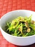 ツナとピーマンのピリ辛サラダ