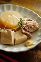 ~ほっこり味染み~鶏大根と高野豆腐の優しいうま煮