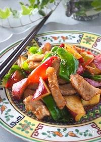 『ご飯がススム!豚肉とさつまいものコク旨炒め#作り置き#お弁当』