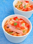 【簡単即席】トマトとたまねぎのサラダ