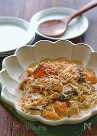 『生鮭とえのきのオイ味噌クリーム煮』