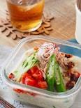 ツナのピリ辛豆乳担々麺【5分・時短・簡単・お弁当】