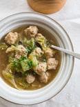 白菜と肉団子のとろとろ中華煮